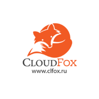 Логотип компании «CloudFox»