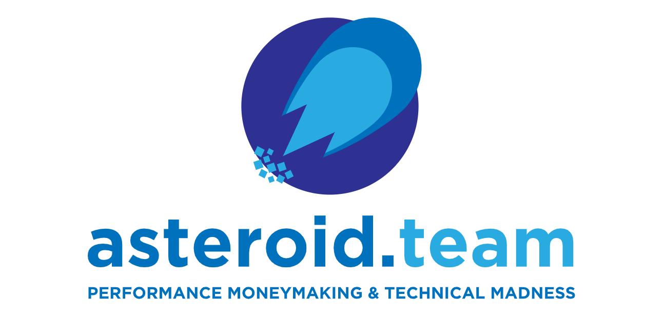 Логотип компании «asteroid»