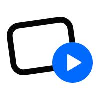 Логотип компании «Uscreen»