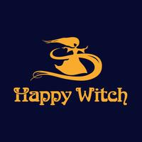 Логотип компании «Happywitch»