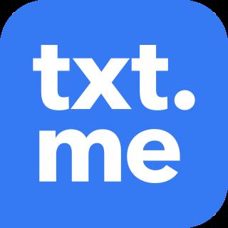 Логотип компании «txt.me»