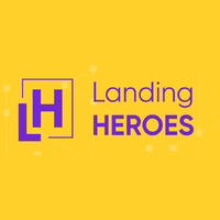Логотип компании «Landing Heroes»