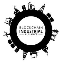Логотип компании «Blockchain Industrial Alliance»