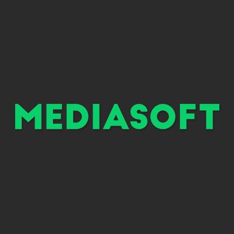 Логотип компании «MediaSoft»