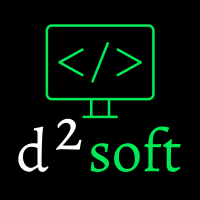 Логотип компании «D2 Soft»