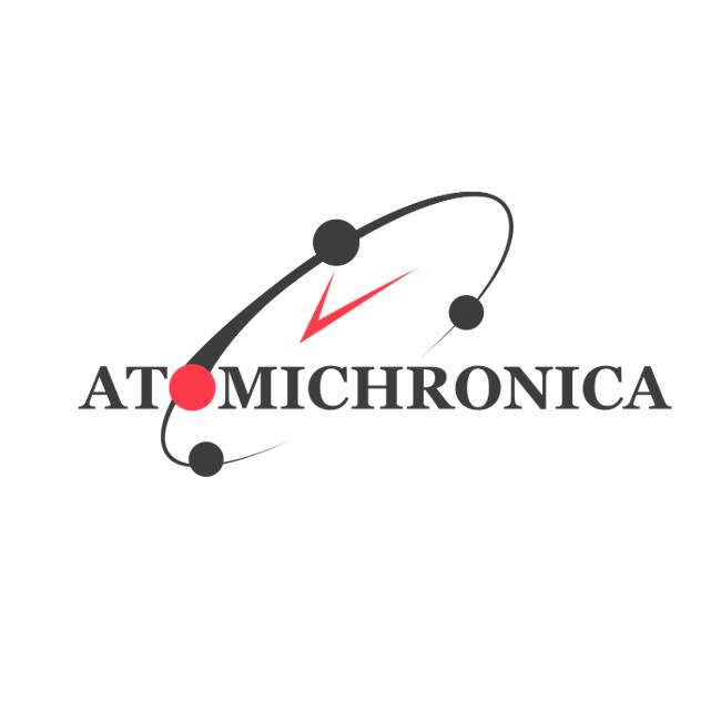 Логотип компании «Atomichronica»