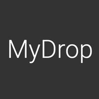 Логотип компании «MyDrop.io»