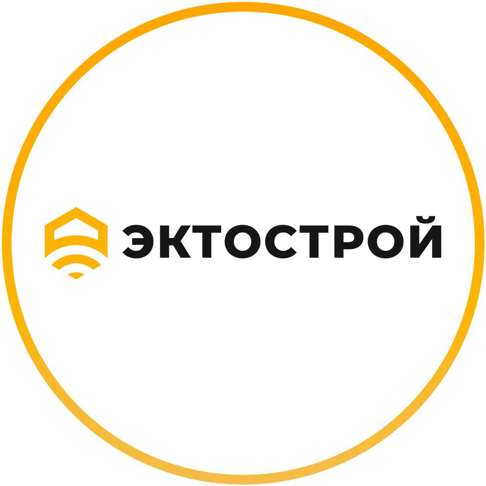 Логотип компании «Эктострой»