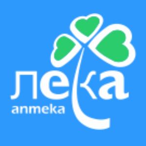 Логотип компании «ЛЕКА»