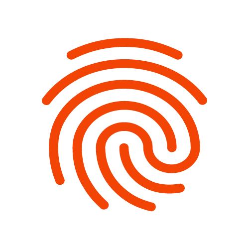 Логотип компании «FingerprintJS»