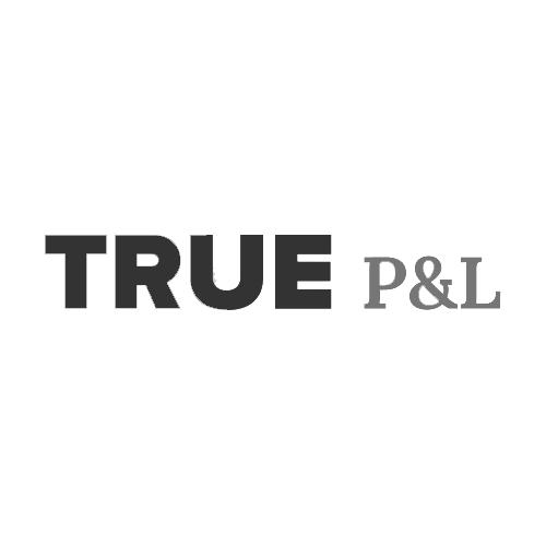 Логотип компании «True P&L»