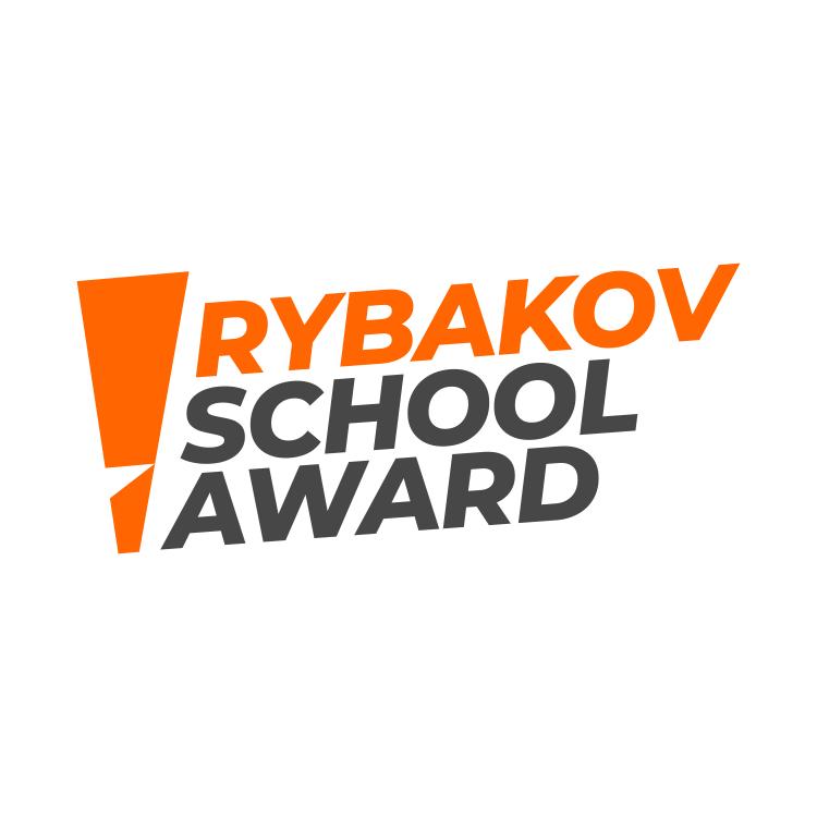 Логотип компании «Rybakov School Award»