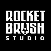 Логотип компании «RocketBrush Studio»