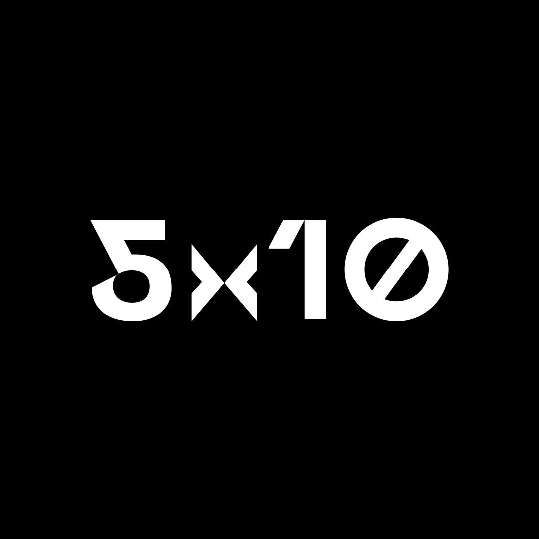 Логотип компании «5x10»