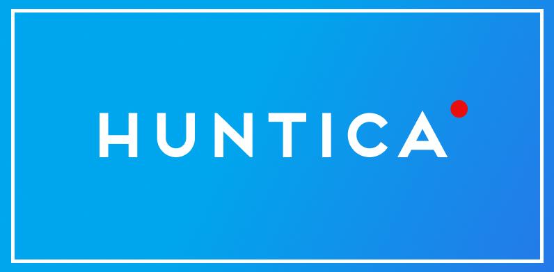 Логотип компании «Huntica»