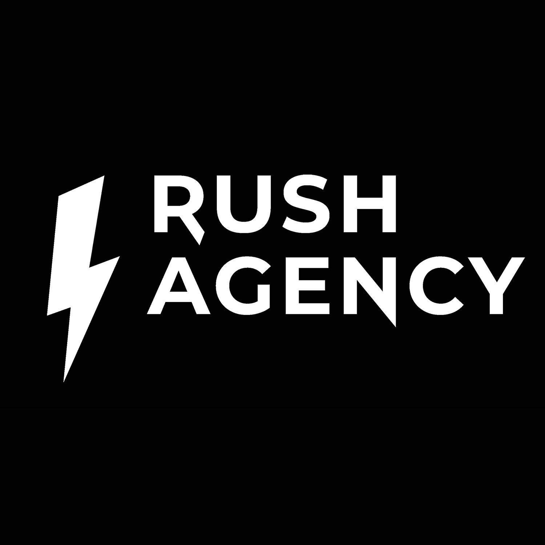 Логотип компании «Rush Agency»