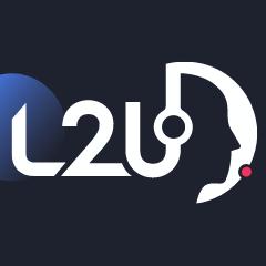 Логотип компании «L2U»