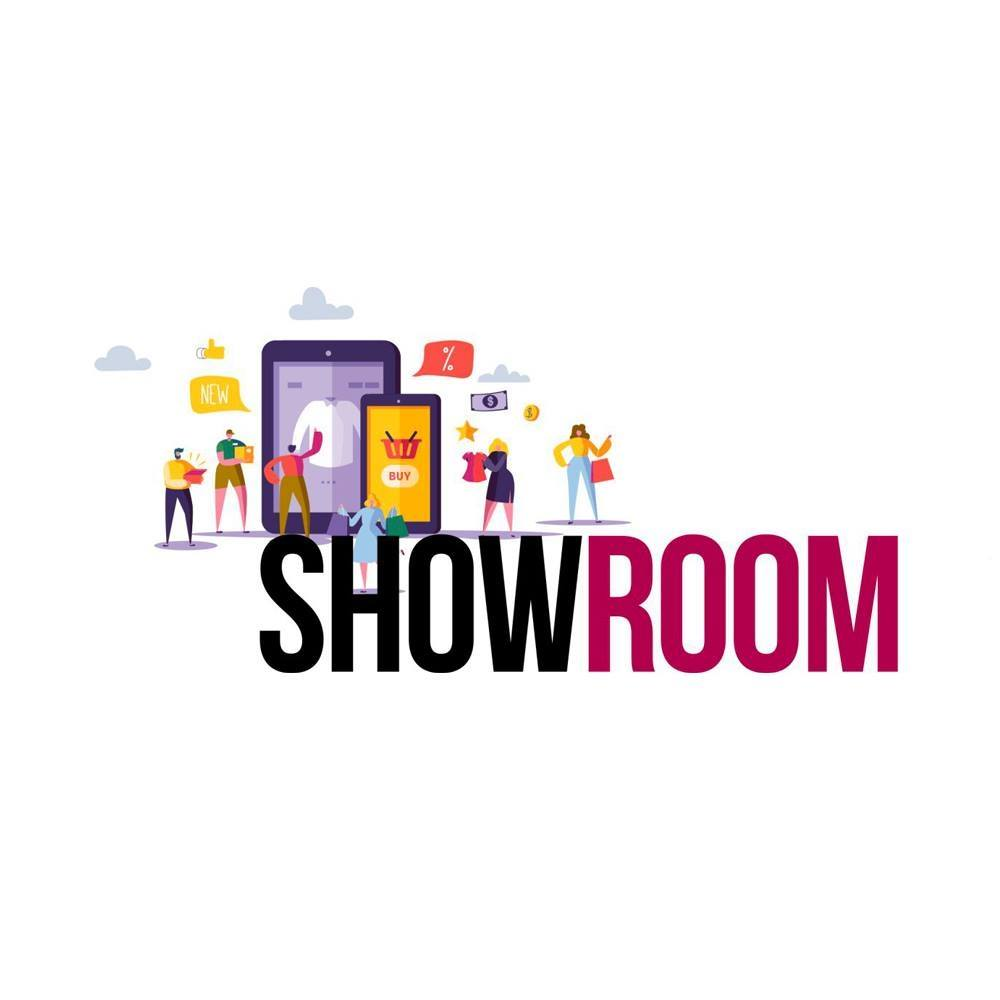 Логотип компании «SHOWROOM MOS BOOM»