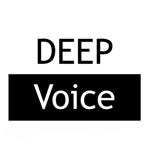 Логотип компании «DeepVoice»