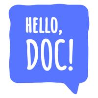 Логотип компании «Hello, Doc!»