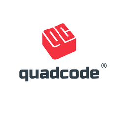 Логотип компании «Quadcode»