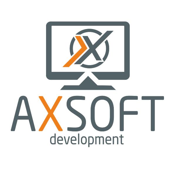 Логотип компании «AXSOFT development»