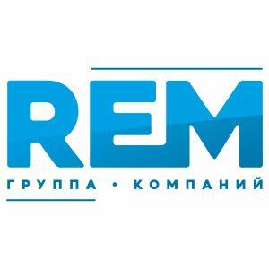 Логотип компании «ГК REM»
