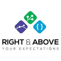 Логотип компании «Right&Above»
