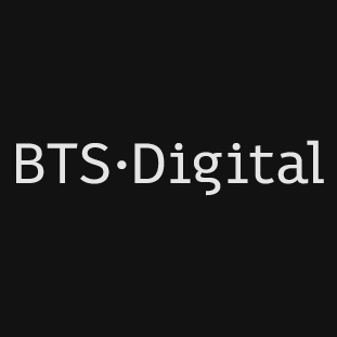 Логотип компании «BTS Digital»