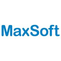Логотип компании «MaxSoft»