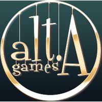Логотип компании «Alta Games»