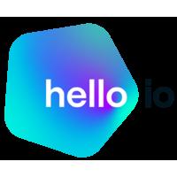 Логотип компании «Hello.io»