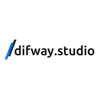 Логотип компании «/difway.studio»