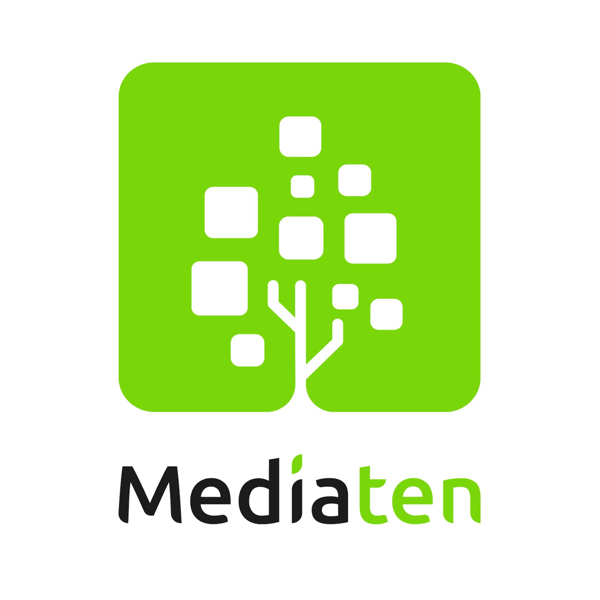 Логотип компании «MediaTen»