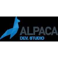 Логотип компании «Alpaca Dev Studio»