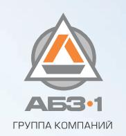 Логотип компании «ГК АБЗ-1»