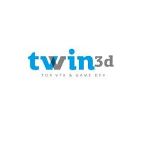 Логотип компании «twin3d»