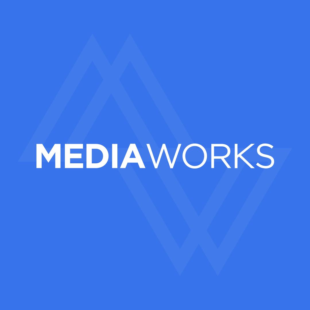 Логотип компании «MEDIAWORKS»