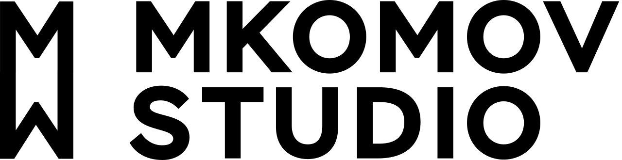 Логотип компании «MKomov studio»