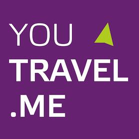 Логотип компании «Youtravel.me»