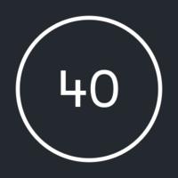 Логотип компании «40 agency»