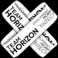 Логотип компании «HorizonTeam»