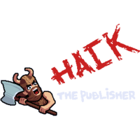 Логотип компании «Hack The Publisher»
