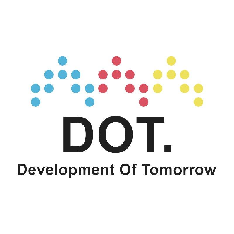 """Логотип компании «""""DOT."""" Agency»"""