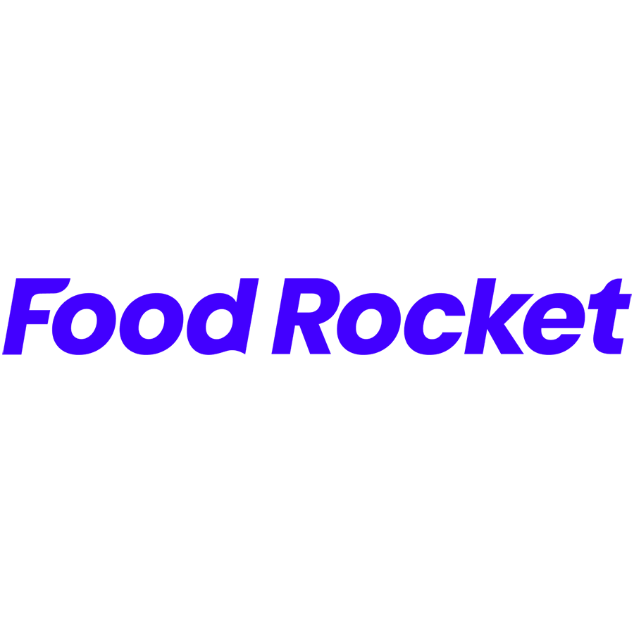 Логотип компании «Food Rocket»
