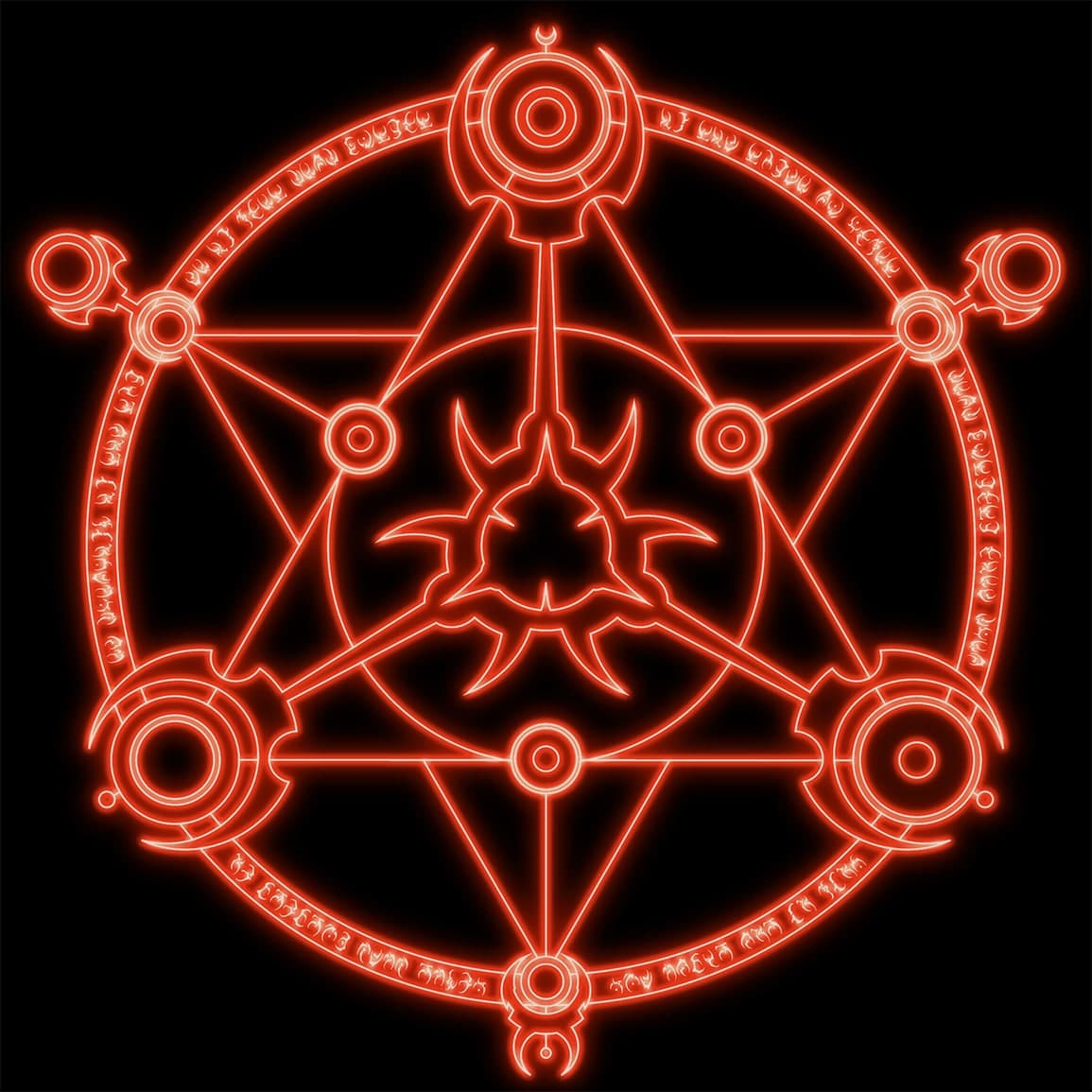 Логотип компании «Hellish Game Services»