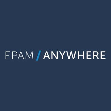 Логотип компании «EPAM Anywhere»