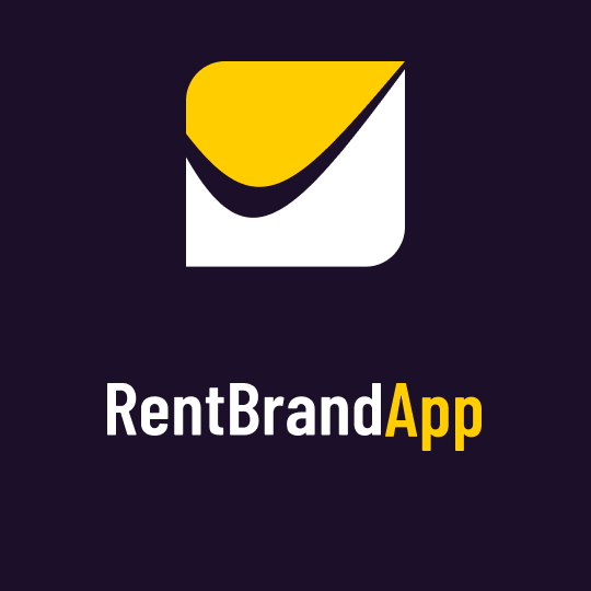 Логотип компании «Rent Brand App»