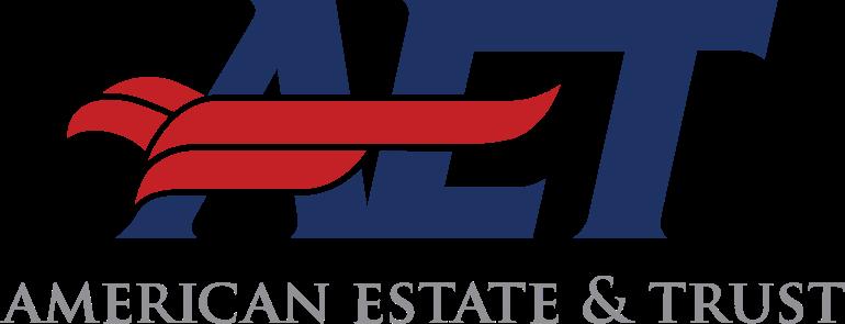 Логотип компании «American Estate & Trust»