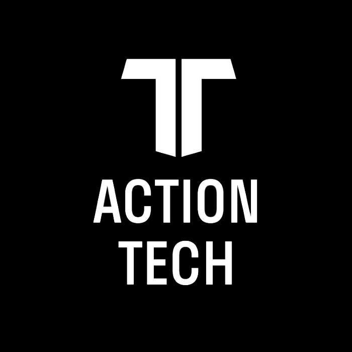 Логотип компании «Action tech»